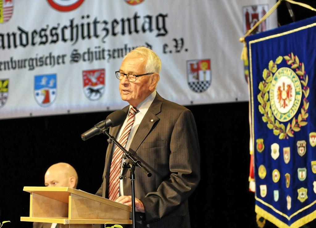 Grußwort des Landessportbundes Dieter Fiebig